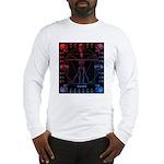 Leonardo da skull 2 Long Sleeve T-Shirt