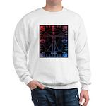 Leonardo da skull 2 Sweatshirt
