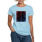 Leonardo da skull 2 Women's Light T-Shirt