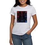 Leonardo da skull 2 Women's T-Shirt