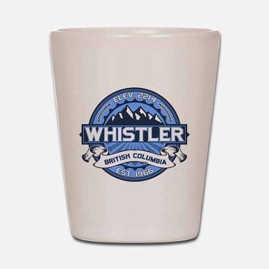 Whistler Blue Shot Glass