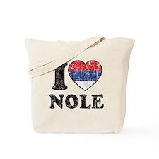 I Heart Nole Grunge Tote Bag