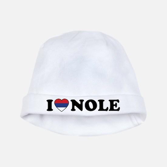 I Heart Nole Grunge baby hat