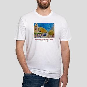 Sausalito Sunday Shirts Fitted T-Shirt