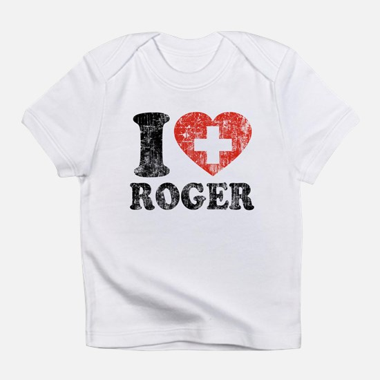 I Heart Roger Grunge Infant T-Shirt