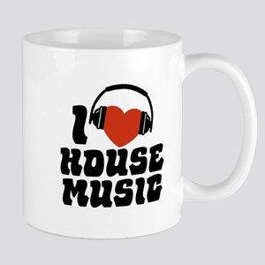 I Love House Music Mug