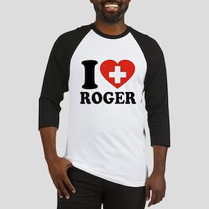 Love Roger Baseball Jersey
