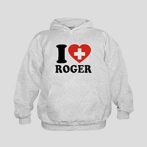 Love Roger Kids Hoodie