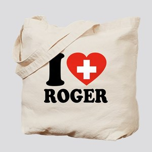 Love Roger Tote Bag