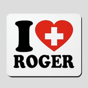 Love Roger Mousepad