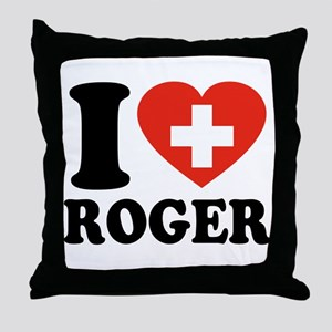Love Roger Throw Pillow