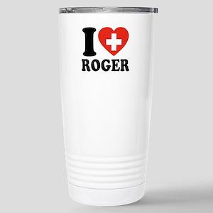 Love Roger Stainless Steel Travel Mug
