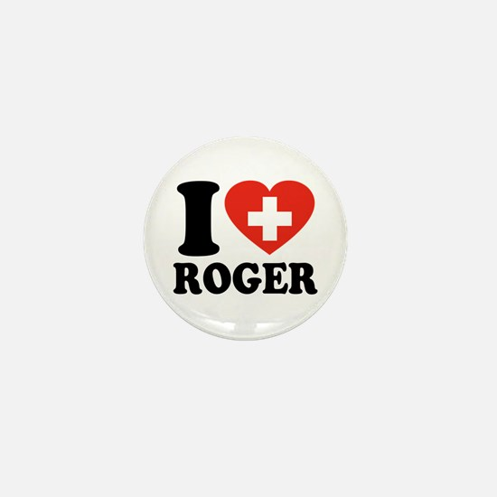 Love Roger Mini Button