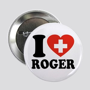 """Love Roger 2.25"""" Button"""