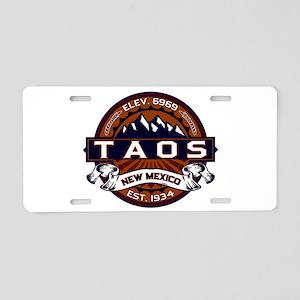 Taos Vibrant Aluminum License Plate