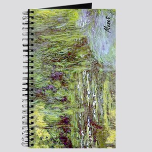 MONET Water Lily Pond Willow Journal