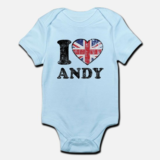 I Heart Andy Grunge Infant Bodysuit