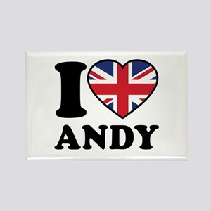 Love Andy Rectangle Magnet