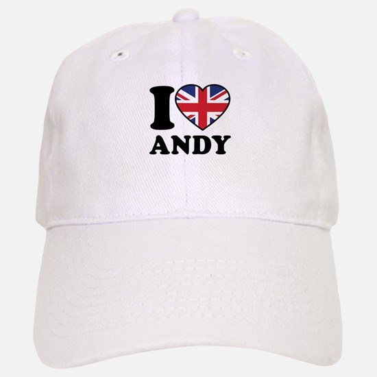 Love Andy Baseball Baseball Cap