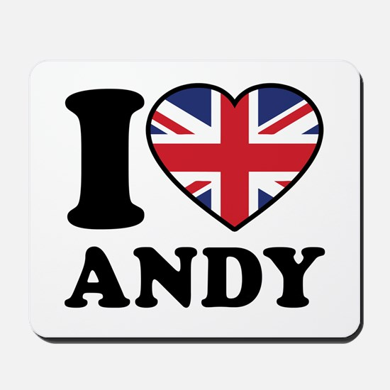 Love Andy Mousepad
