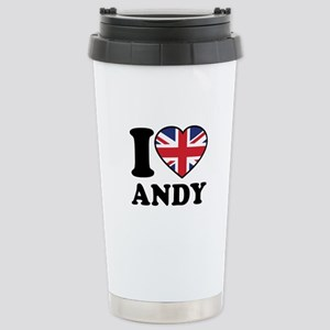 Love Andy Stainless Steel Travel Mug