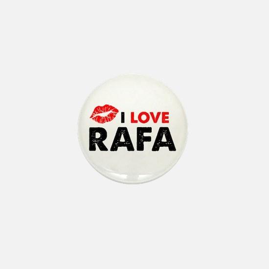 Rafa Lips Mini Button
