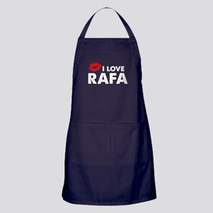 Rafa Lips Apron (dark)