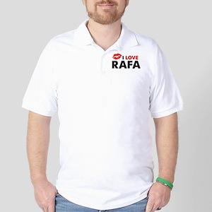 Rafa Lips Golf Shirt