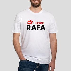 Rafa Lips Fitted T-Shirt