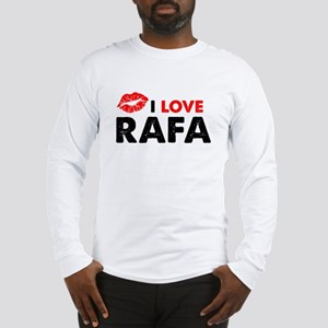 Rafa Lips Long Sleeve T-Shirt