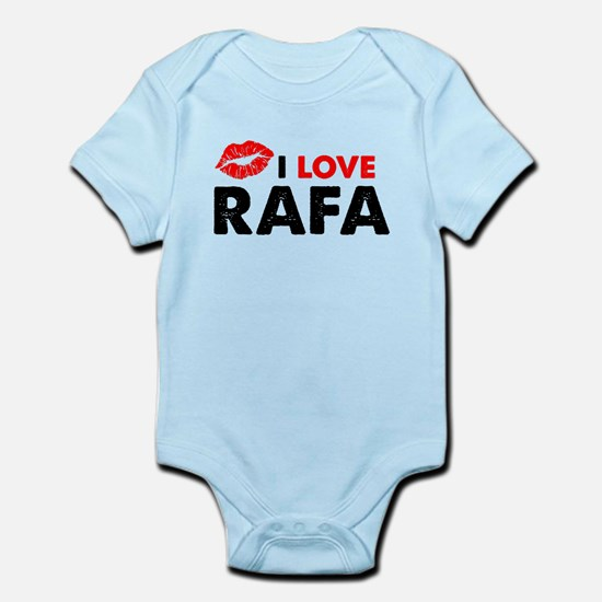 Rafa Lips Infant Bodysuit
