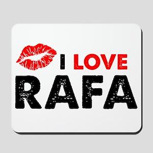 Rafa Lips Mousepad