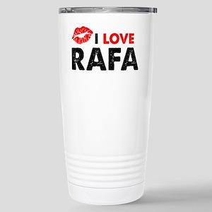 Rafa Lips Stainless Steel Travel Mug