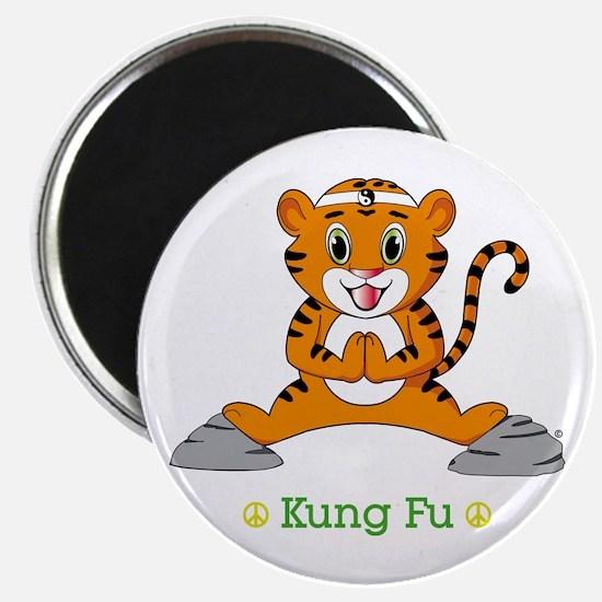 """Kung Fu Tiger™ 2.25"""" Magnet (10 pack)"""