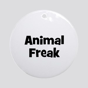 Animal Freak Ornament (Round)