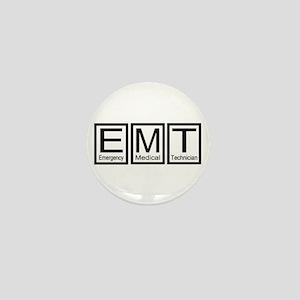 EMT (Black) Mini Button