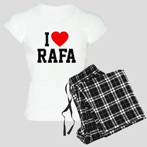 I Love Rafa Women's Light Pajamas