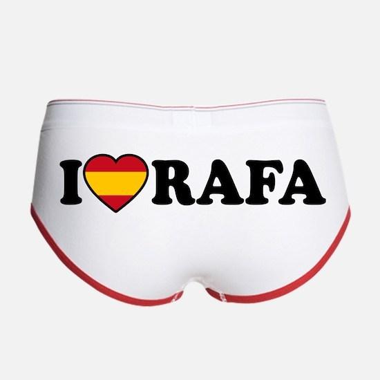 I Love Rafa Nadal Women's Boy Brief