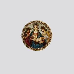 Mary and Baby Jesus Mini Button