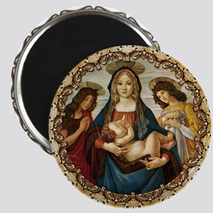 Mary and Baby Jesus Magnet