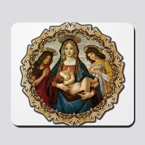 Mary and Baby Jesus Mousepad