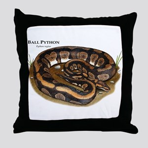 Ball Python Throw Pillow