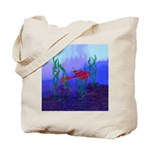 Beta Fish Brilliant Violet Re Tote Bag