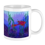 Beta Fish Brilliant Violet Re Mug