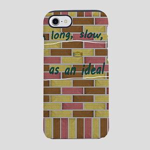 17th Quote; Breathe long, slow iPhone 7 Tough Case
