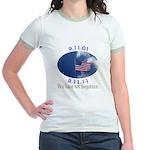 9-11 Not Forgotten Jr. Ringer T-Shirt