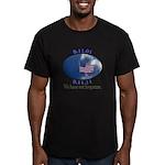 9-11 Not Forgotten Men's Fitted T-Shirt (dark)