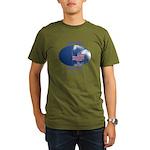 9-11 Not Forgotten Organic Men's T-Shirt (dark)