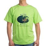 9-11 Not Forgotten Green T-Shirt