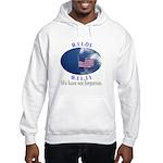 9-11 Not Forgotten Hooded Sweatshirt